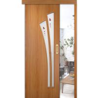 Раздвижные двери одинарные Ветка ПО (мин. комплект)
