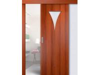 Раздвижные двери одинарные Рюмка (мин. комплект)