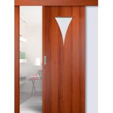 Раздвижные двери одинарные Рюмка
