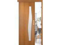 Раздвижные двери одинарные Волна ДОФ (мин. комплект)