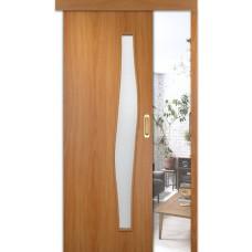 Раздвижные двери одинарные Волна ДОФ
