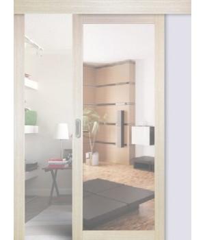 Раздвижные двери одинарные 501.1 зеркало (мин. комплект)