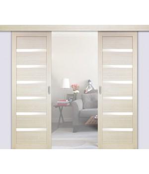 Раздвижные двери двустворчатые 507.12 (мин. комплект)