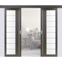 Раздвижные двери двустворчатые 524.22АСС молдинг (мин. комплект)