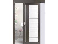 Раздвижные двери одинарные 524.22АСС молдинг (мин. комплект)