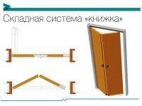 """Складная система """"книжка"""" Optima Porte (мин. комплект)"""