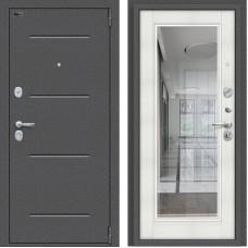 Porta S 104/П61 Антик Серебро/Bianco Veralinga (зеркало)