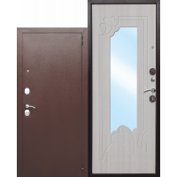6 см АМПИР Венге, Беленый Дуб (зеркало)