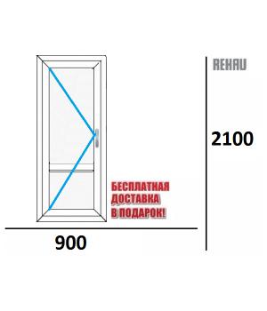 Входная дверь REHAU THERMO 900 х 2100