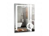 Зеркало AZARIO Клио 600*800 LED-подсветка увеличительное зеркало
